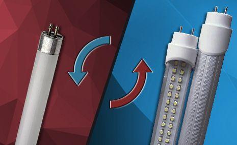 Aprenda Agora Como Trocar Uma Lampada Tubular Por Uma Led Fluorescente Led Led Lampada Fluorescente