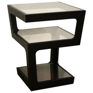 Euro End Table Houzz 46 99 Domino Com End Tables