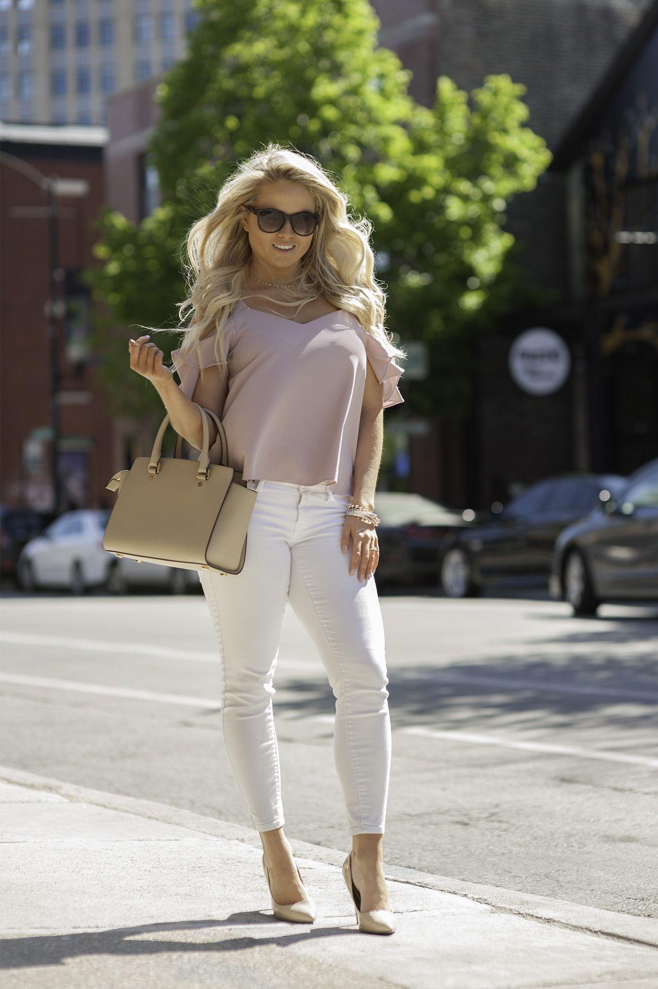 Spring Ruffles | Stephanie Morgan | The Urban Petite Fashion Blog