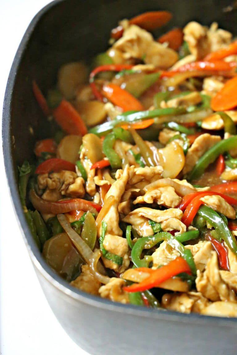 This Thai Spicy Basil Chicken recipe rocks!