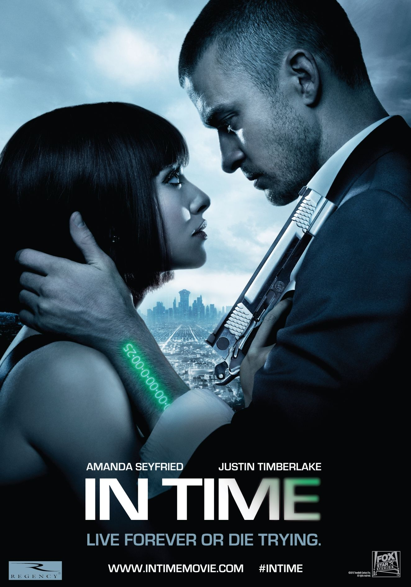 In Time 2011 A Film By Andrew Niccol Movies Amanda Seyfried Justin Timberlake Olivia Wilde Shyloh Sci Fi Films Sci Fi Movies Movies Worth Watching