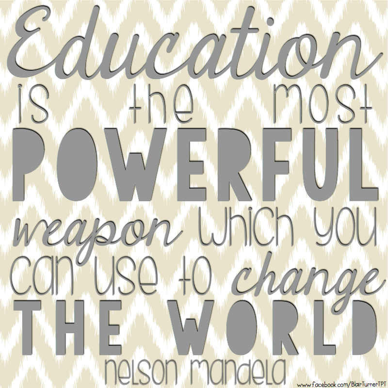 Nelson Mandela Quotes On Change: Education Is The Most Powerful Weapon Which You Can Use To