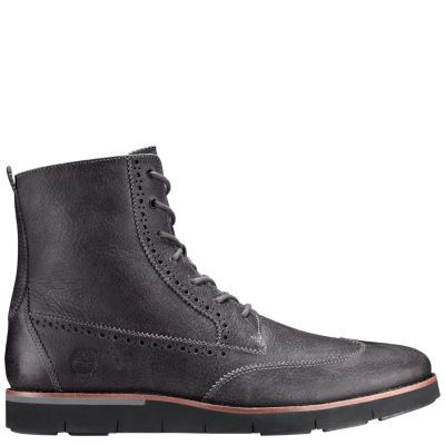 2016 Hot Sale Bertie Barkly Leather Brogue Derby Shoes Men Black ASMRS2