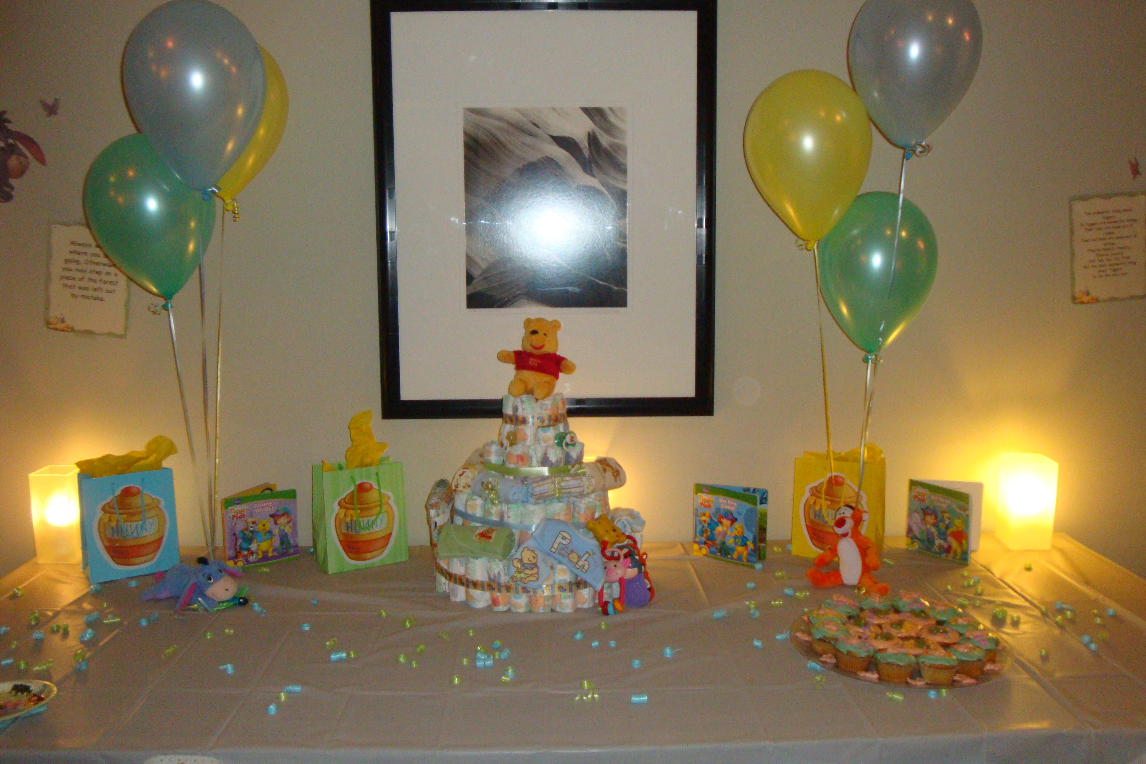 Small Winnie The Pooh Baby Shower Decorations Uk and winnie