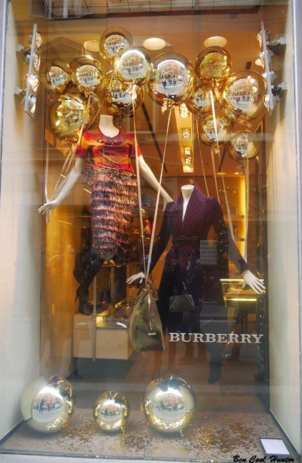 Escaparates navide os las tiendas de lujo de roma - Ideas escaparate navidad ...