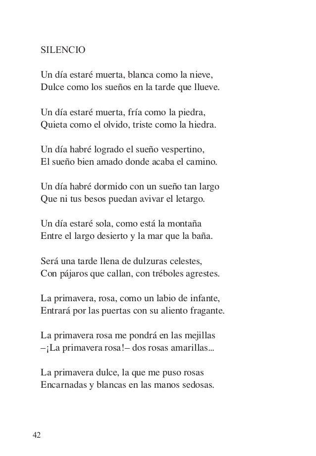 Alfonsina Storni Un Dia Estare Muerta Alfonsina Storni