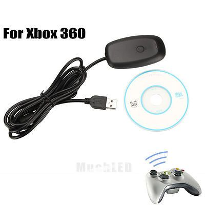 USB PC Steam Video Gaming Receiver Adapter for Xbox 360 Wireless ...