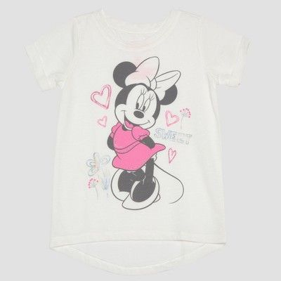34852f97ecfa Toddler Girls  2pc Disney Mickey Mouse   Friends Minnie Mouse T-Shirts -  Yellow 3T