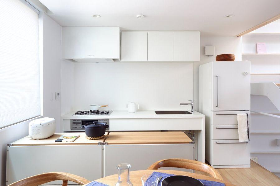 Japanese Inspired Kitchens Focused On Minimalism Kitchen Layout Muji Home Kitchen Style