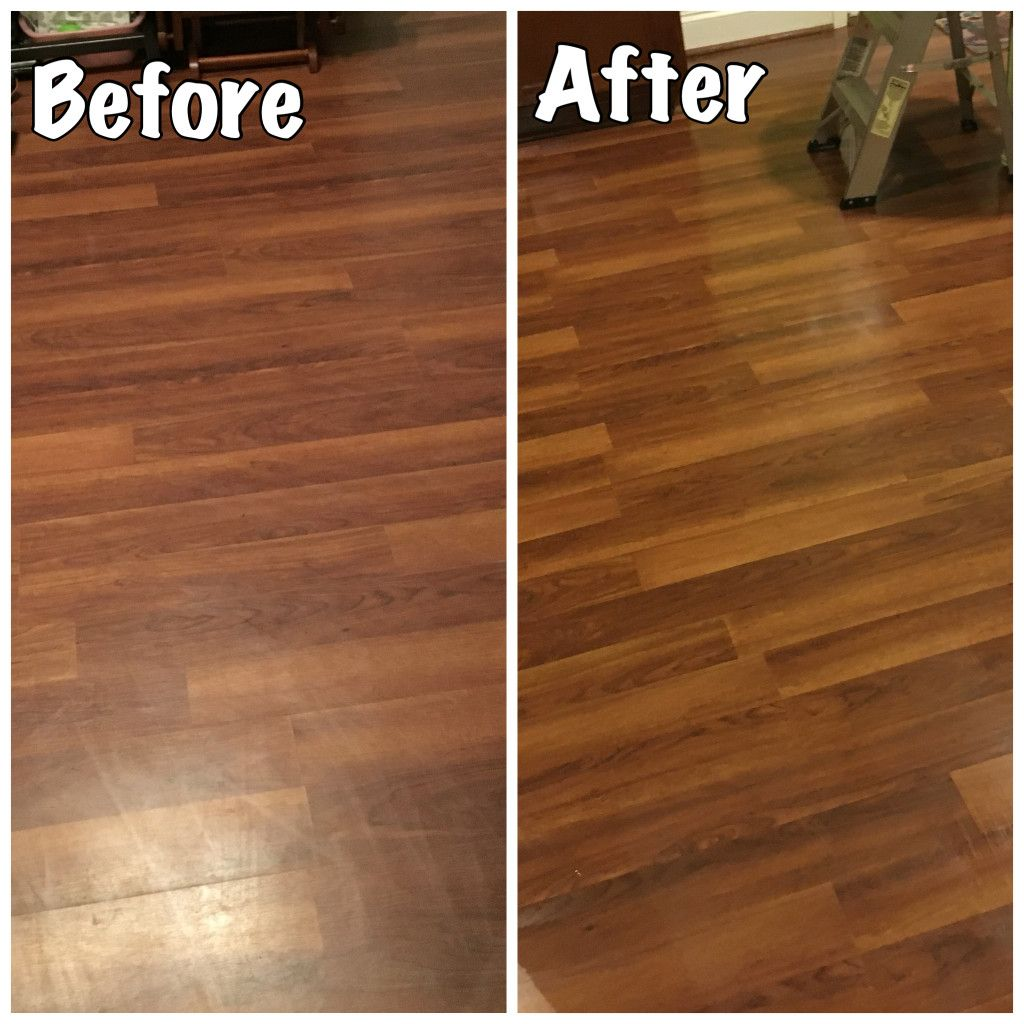 Laminate Floors Make Them Shine Again Easy Diy Step To