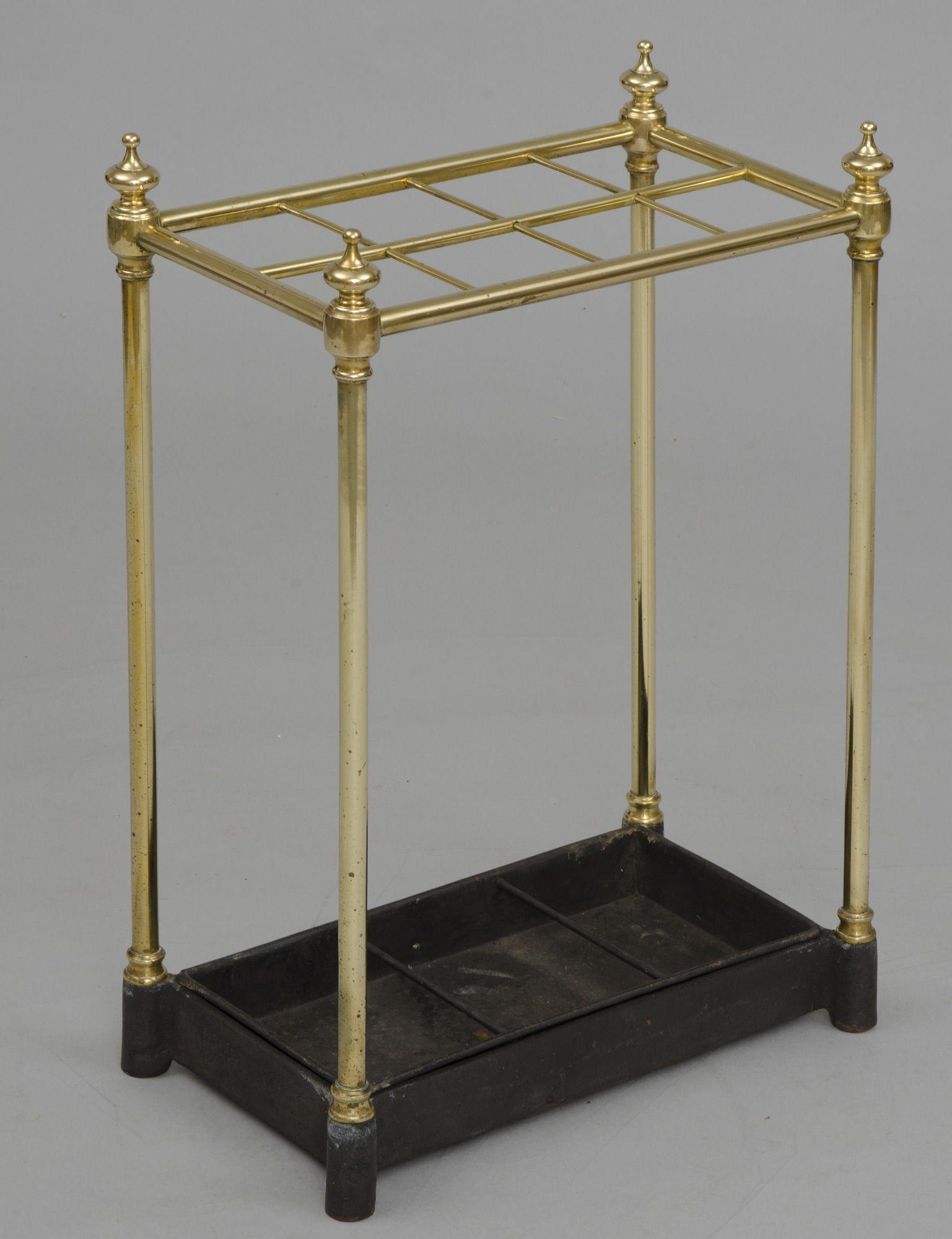 English Antique Brass Umbrella Stand Umbrella Stand English Antiques Antiques