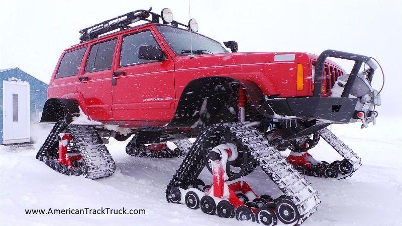 American Track Truck Car Suv Rubber System Jeep Cherokee Xj Rybářská