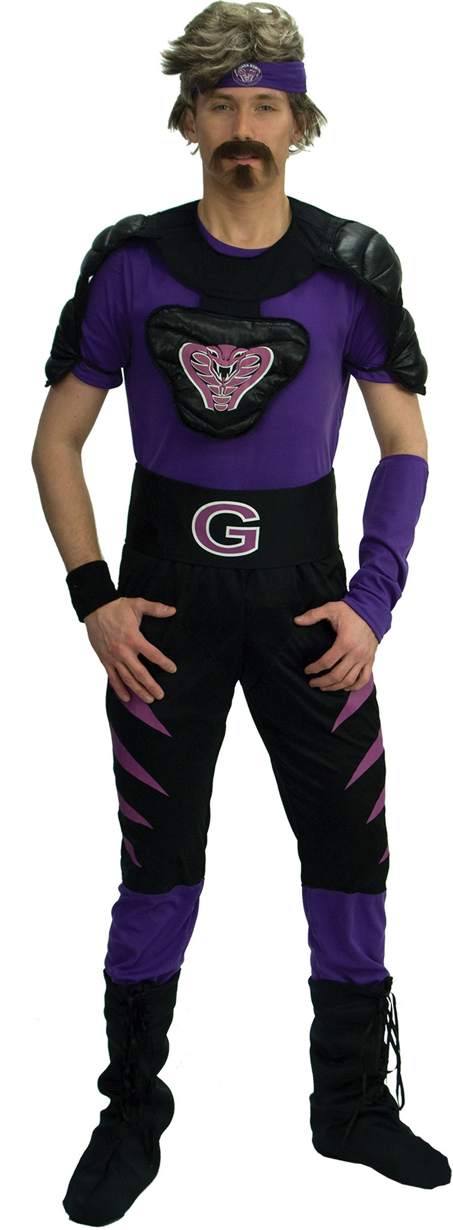 Dodgeball Purple Cobras Deluxe Costume - Hollywood and TV costumes ...
