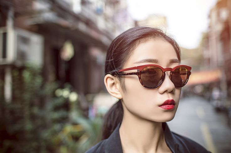 Stylehunter Avafoo owning the POLICE lifestyle on the streets of Shanghai - effortless and flawless #mygamemycity Avafoo is wearing Sunglasses Neymar Jr 2 S1960
