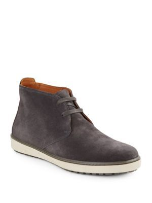 VINCE Blake Suede Chukka Boots. #vince #shoes #boots