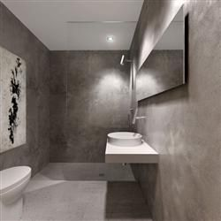Awesome Polished And A Fair Faced Concrete Ceiling Contrast With The Minimal Walls  Of Storage And Smooth Opposite, Creating A Somewhat Austere Yet Refined  Realm Of ...