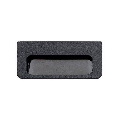 Matte Black Recessed Drawer Pull Black Cabinet Hardware