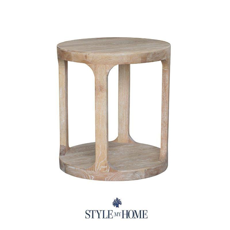 Attirant MILLA Whitewash Round Side Table Style My Home Sydney Australia Hamptons  French Country Coastal