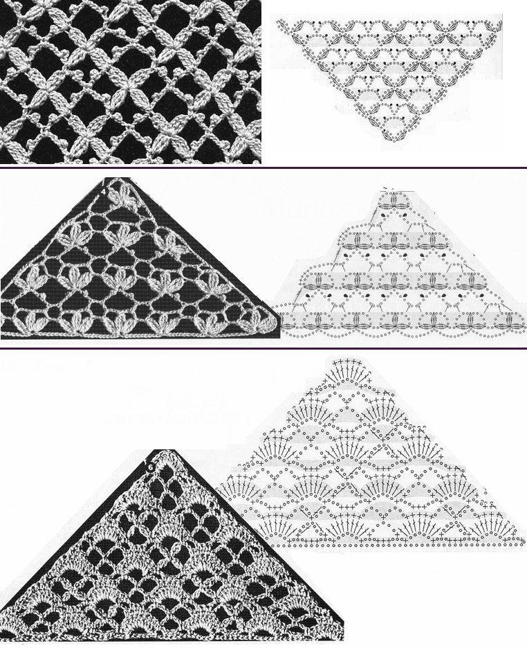 Picasa-Webalben | cuellos tricot | Crochet Shawl, Crochet y Crochet ...