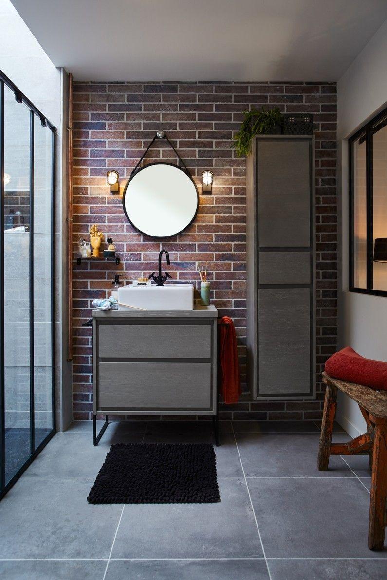 Salle De Bain Brique salles de bains modernes : styles et tendances en 2020