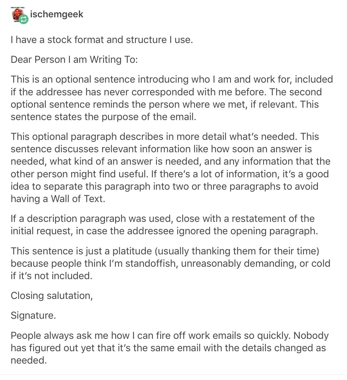 Write Letters Template Format College Hacks Life Hacks Writing