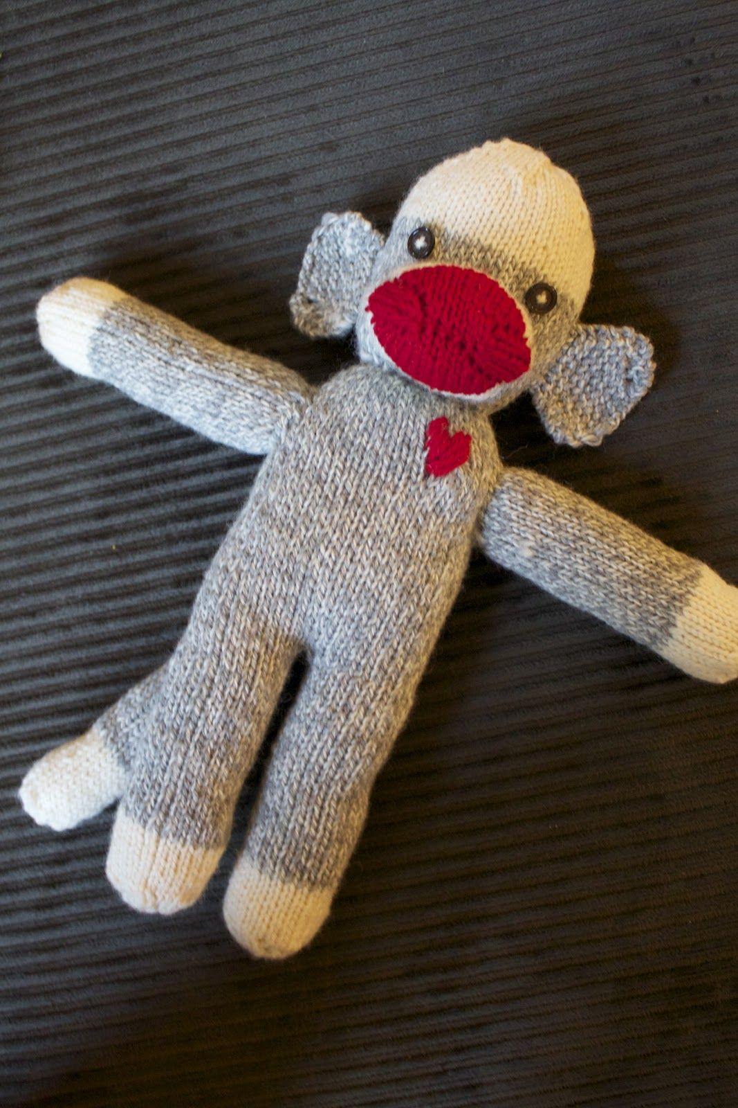 Handmade by Meg K: Sock Monkey Pattern and Tutorial ...