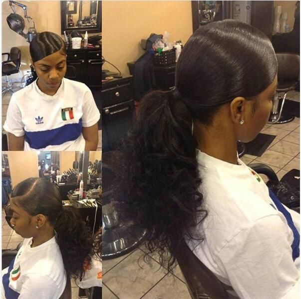 30++ Cute slicked back hairstyles with weave ideas