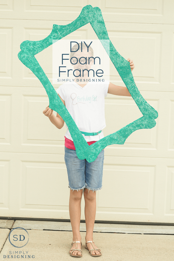 DIY Foam Frame | Crafts DIY & Re-Use, Re-Purpose | Pinterest | DIY ...