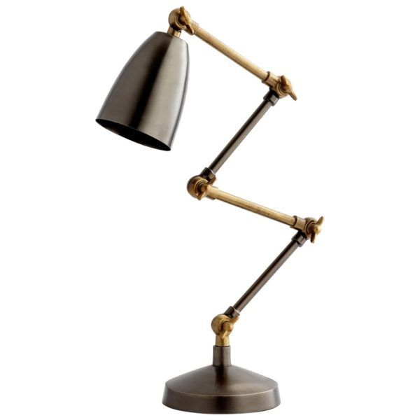 Angleton desk lamp by cyan design