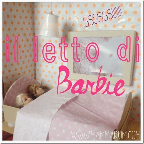 Letto Delle Bambole Speakabu Barbie Doll House Barbie