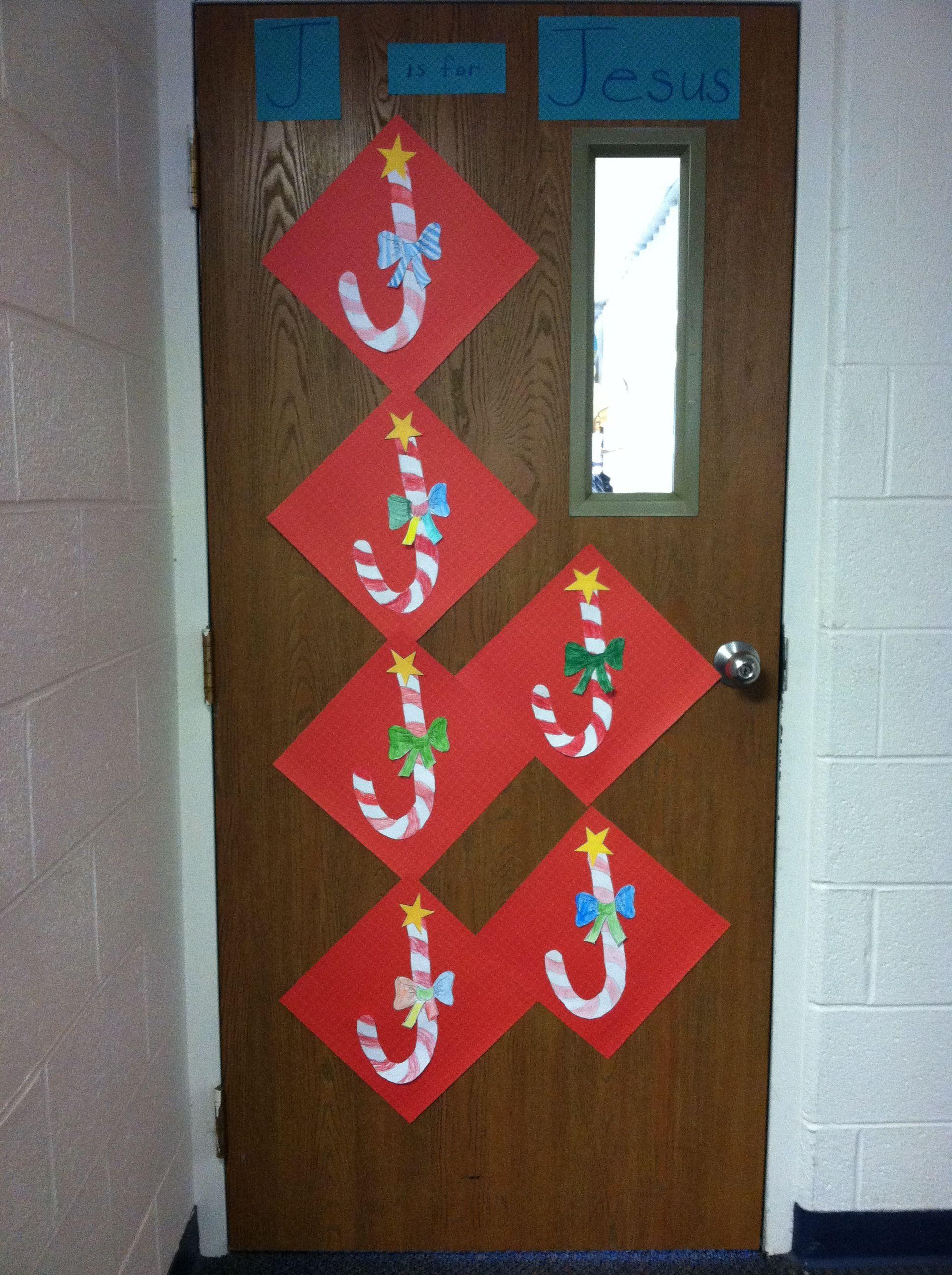 Christmas Door J Is For Jesus By Mrs Warden Whca Christmas