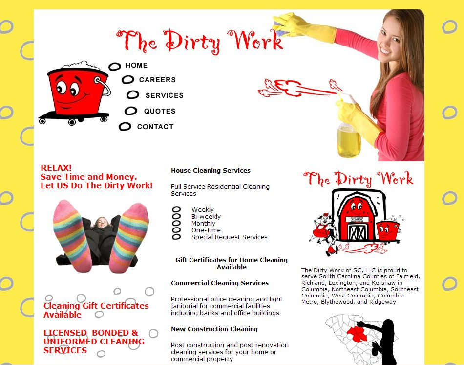 House Cleaning Services Some Tips You Should Know About Maid - Commercial cleaning brochure templates