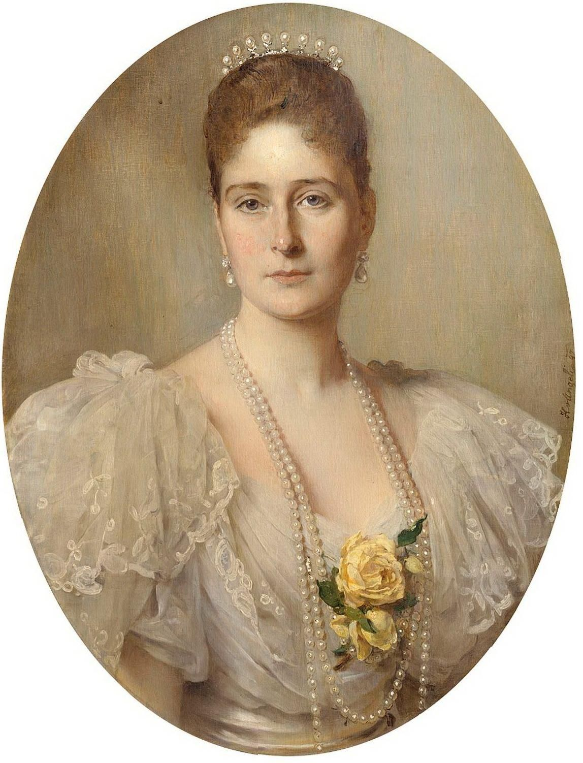 The Empress Alexandra Feodorovna Of Russia Was Born On This Day, 6th June  1872 To