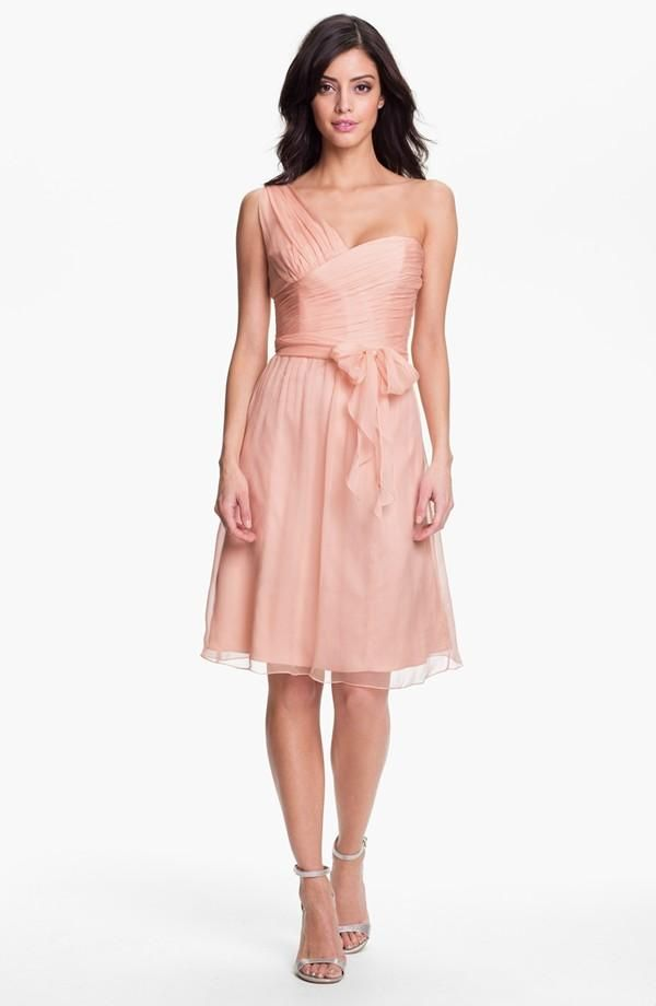 Pink Bow Dress with Shoulder Strap. | \'Dress\' For Success ...