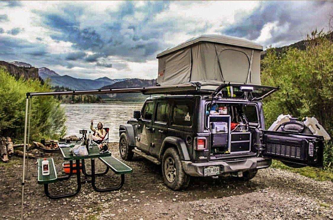 Jeep Wrangler Overland Setup Jeep Wrangler Camping Jeep Wrangler Camper Jeep Wrangler