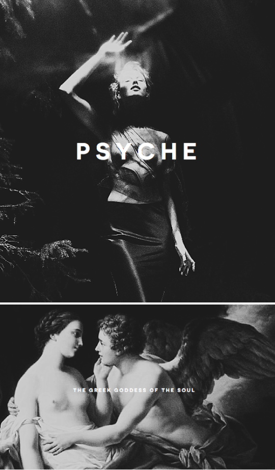 psyche is the goddess of the soul in greek mythology her