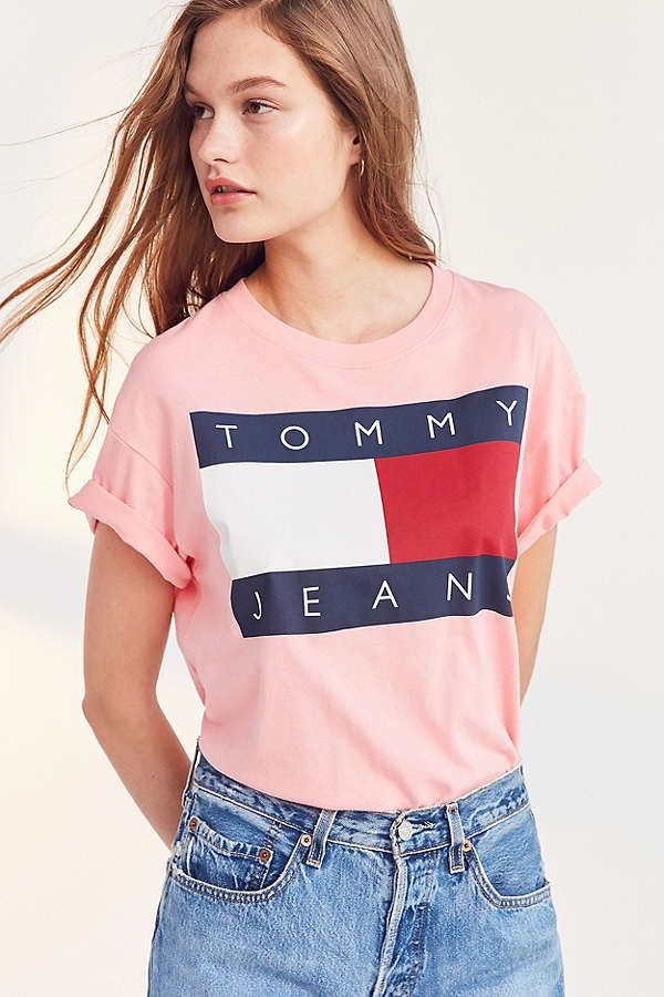 2e9f78903992 Tommy Jeans For UO  90s Tee