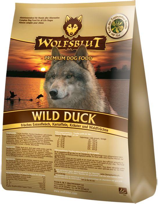 Wolfsblut Wild Duck Das Getreidefreie Hundefutter Jetzt Direkt Beim Hersteller Kaufen Healthfood24 Wolfsblut Trockenfutter Hunde Futter Hundefutter Hunde
