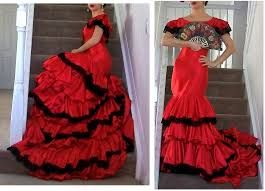 Image result for flamenco dress red