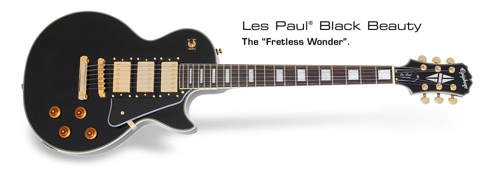 Les Paul Black Beauty 3: The Fretless Wonder