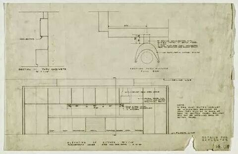 Farnsworth House Plan Elevation Kitchen 1950 Elevation Plan Farnsworth House Van Der Rohe