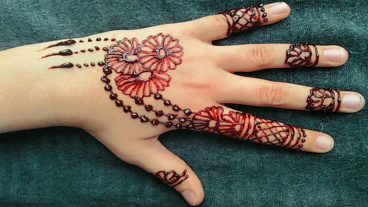 51 Easy Simple Mehndi Designs For Kids Simple Mehndi Designs