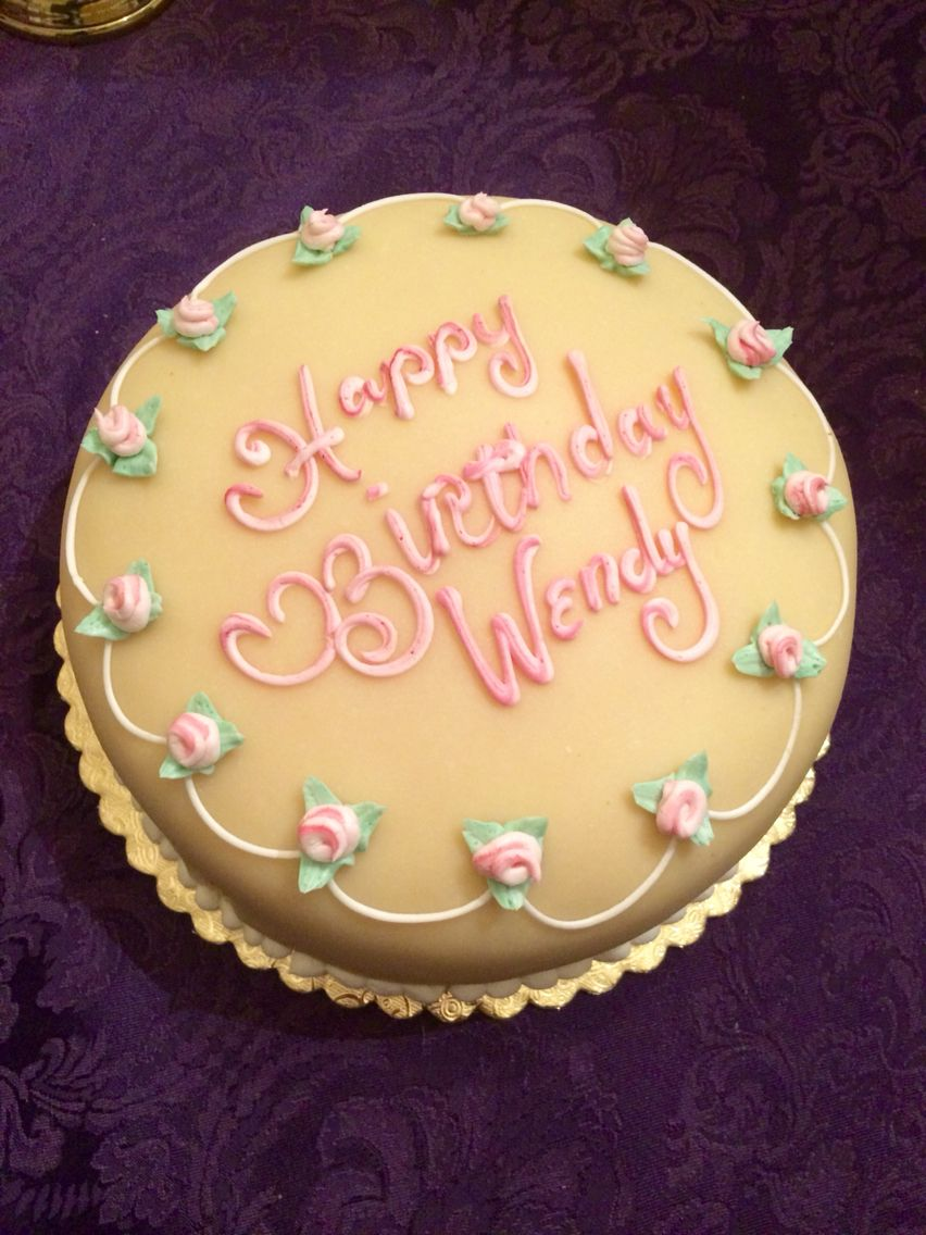 Tremendous Happy Birthday Wendy Swedish Princess Birthday Cake With Personalised Birthday Cards Paralily Jamesorg
