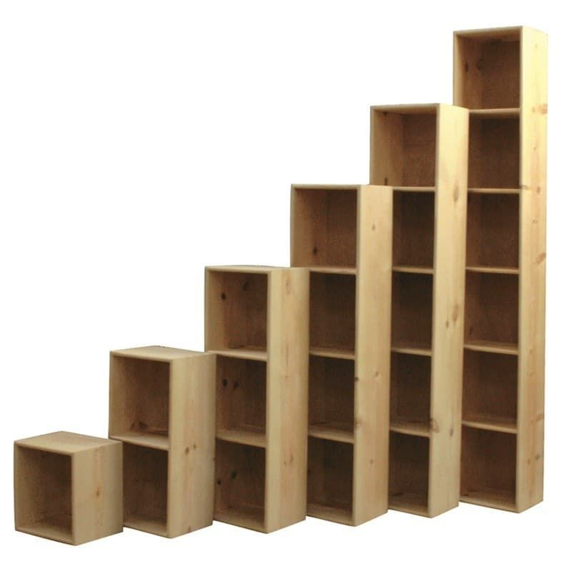 Furniture In The Raw Solid Pine Bookcase Cubes Are Perfect Storage Pine Bookcase Cube Furniture Diy Storage Shelves