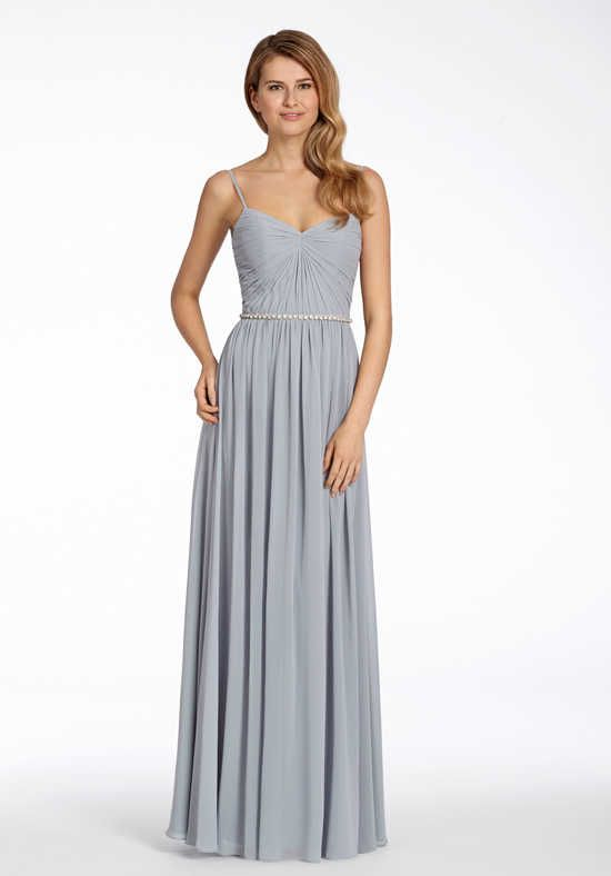 4c48a7a1a1 Hayley Paige Occasions 5701 V Neck Bridesmaid Dress Wedding In