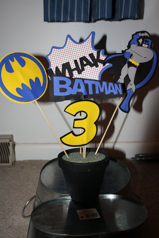 Google themes batman - Batman Super Hero Centerpiece
