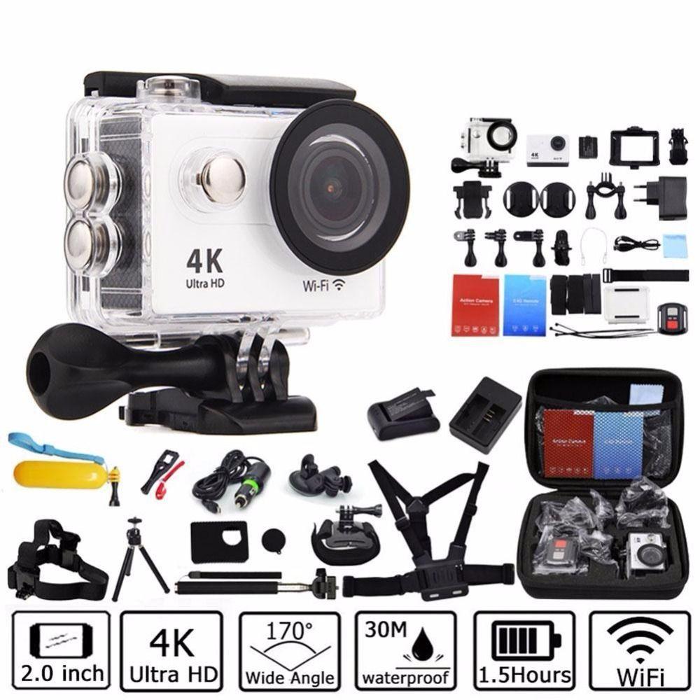 Action Camera Deportiva Original For Eken H9 H9r Remote Ultra Hd 4k Sports Cam Sport Mini 1080p H264 Full No Wifi Go Waterproof Pro