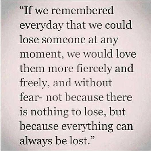 A Little Reminder Never Take Anything Or Anyone For Granted Quotable Quotes Quotes Words