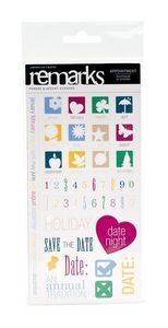 Calendar > Appointments Accents & Phrases Stickers by American Crafts: A Cherry On Top