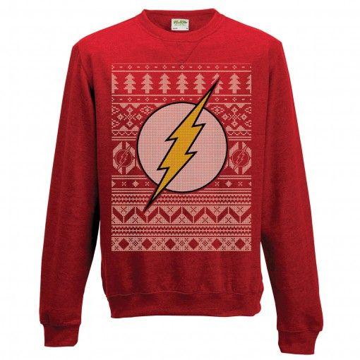The Flash Christmas Sweaterjumper Geek Stuff I Love The Flash